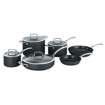 Cuisinart Chef iA+ 6 Piece Cookware Set Hard Anodised