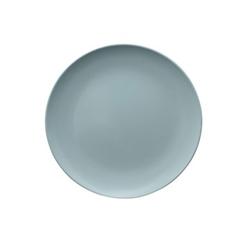 Serroni Colour Melamine Side Plate 20cm Duck Egg Blue