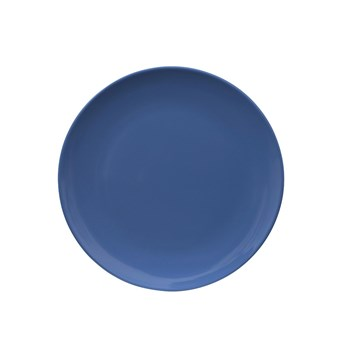 Serroni Colour Melamine Side Plate 20cm Cornflower Blue