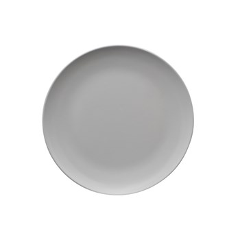 Serroni Colour Melamine Dinner Plate 25cm White