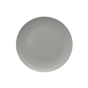 Serroni Colour Melamine Dinner Plate 25cm Dusty Grey