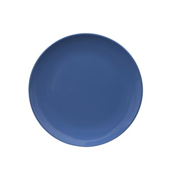 Serroni Colour Melamine Dinner Plate 25cm Cornflower Blue