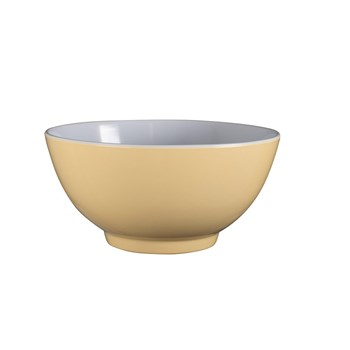 Serroni Two-tone Melamine Bowl 15cm Buttercup Yellow