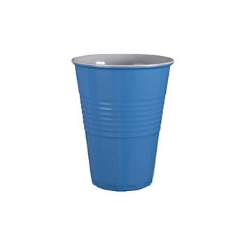 Serroni Miami Melamine Two Tone Cup Cornflower Blue