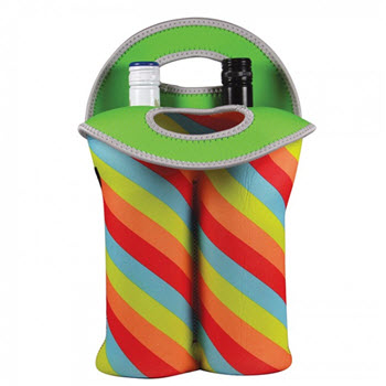 Avanti Insulated Bottle Carrier Retro Stripe