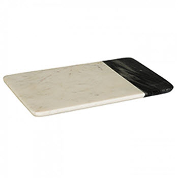 Peer Sorensen Two Tone Marble Cheese Serving Board White 40cm