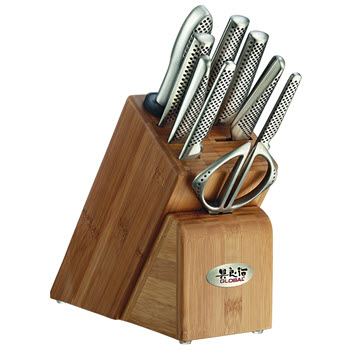 Global Takashi Knife Block 10 Piece