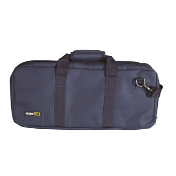 Cheftech 18 Pocket Knife Roll with Handles Navy Blue