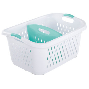 Sterilite 78L Divided Laundry Basket