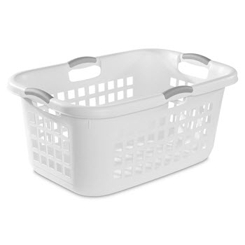 Sterilite 71L Ultra Laundry Basket - White