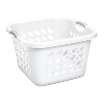 Sterilite Ultra Laundry Basket White 53L