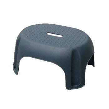 Snazzee Black Step Stool
