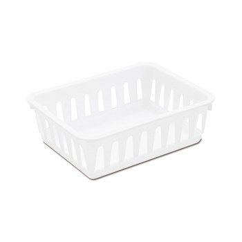 Sterilite Mini Storage Tray 16cm White