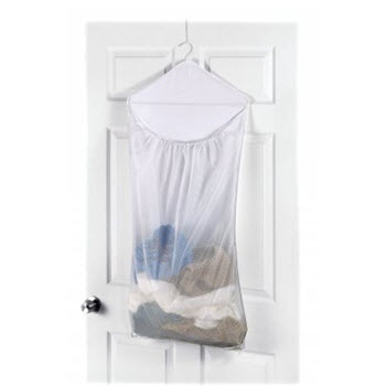 Whitmor Nylon/Mesh Hanging Hamper
