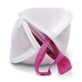 Whitmor 2 Pocket Bra Mesh Wash Bag