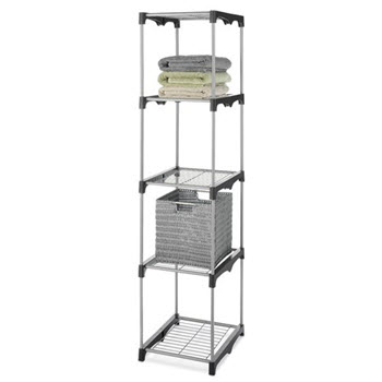 Whitmor Shelf Tower 5 Tier