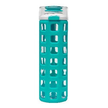 Ello Syndicate Teal Glass Bottle