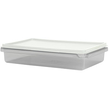 Cuisine Queen Rectangular Food Storers 1.1L White