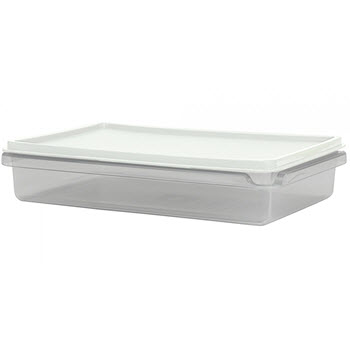 Cuisine Queen Rectangular Food Storers 1.4L White