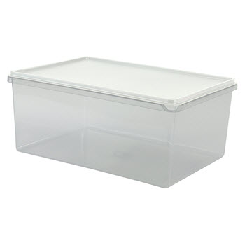 Cuisine Queen Rectangular Food Storers 7L White