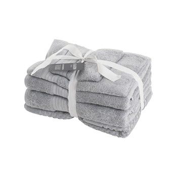 Sheraton Egyptian 5 Piece Towel Pack Dove Grey