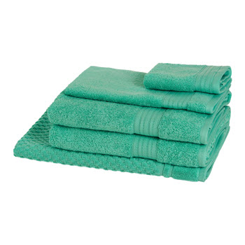 Morrissey Designer Egyptian 5 Piece Towel Pack Jade