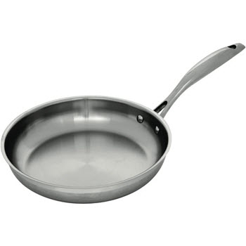Swiss Diamond Premium Steel 28cm Frypan Stainless Steel