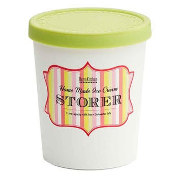 RetroKitchen 1L Ice Cream Storer Mint