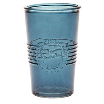 RetroKitchen 330ml Old Fashioned Tumbler Navy