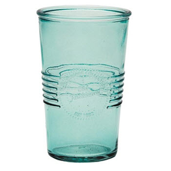 RetroKitchen 330ml Old Fashioned Tumbler Aqua