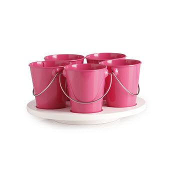 RetroKitchen Craft Turntable Hot Pink