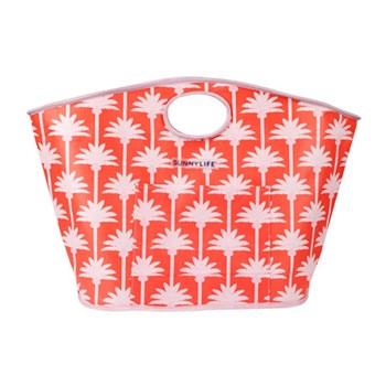 Sunnylife Kasbah Coral Woven Carryall Bag 67 x 24 x 44cm