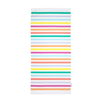 Sunnylife Block Party 270GSM Fouta Cotton Towel 90 x 175cm