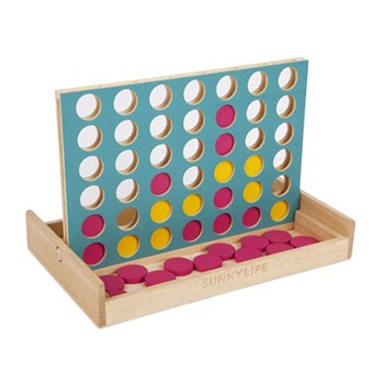 Sunnylife Superfly Travel 4 In A Row Connect Four Game