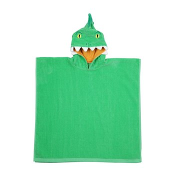 Sunnylife Crocodile Kids Cotton Hooded Beach Towel