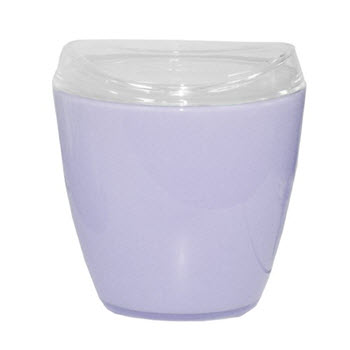 Creative Home Bathroom Accessories Waste Bin Purple