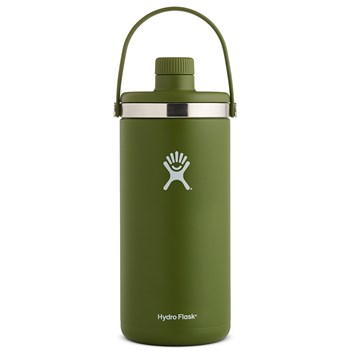 Hydro Flask Oasis Stainless Steel Insulated Drink Bottle 3.8L/128oz Olive Green
