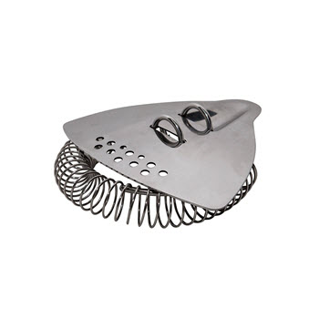 Uberbartools BarRay Drink Strainer Chrome