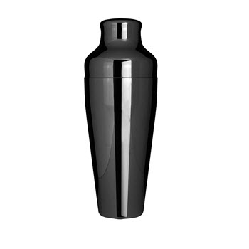 Uberbartools MShaker 600ml Cocktail Shaker Black