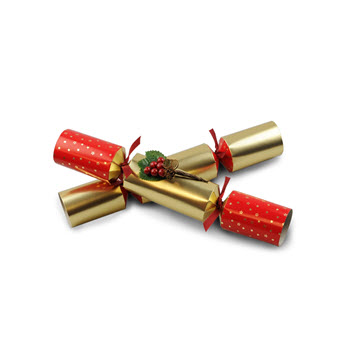 Party Temptation Holly Berry Set of 6 Christmas Crackers