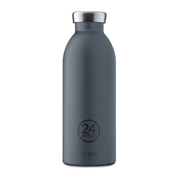 24Bottles Basic Collection Clima Bottle Stainless Steel Drink Bottle 500ml Formal Grey