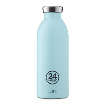 24Bottles Pastel Collection Clima Bottle Stainless Steel Drink Bottle 500ml  Cloud Blue