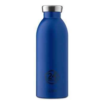 24Bottles Chromatic Collection Clima Bottle Stainless Steel Drink Bottle 500ml Gold Blue