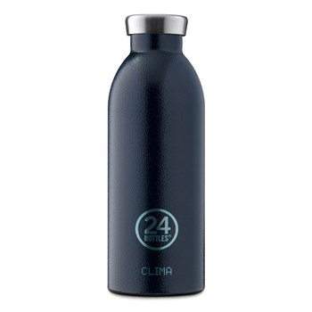 24Bottles Rover Collection Clima Bottle Stainless Steel Water Bottle 500ml  Deep Blue