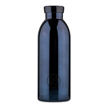 24Bottles Grand Collection Clima Bottle Stainless Steel Drink Bottle 500ml  Metallic Black Radiance