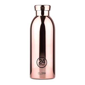 24Bottles Grand Collection Clima Bottle Stainless Steel Drink Bottle 500ml  Metallic Rose Gold