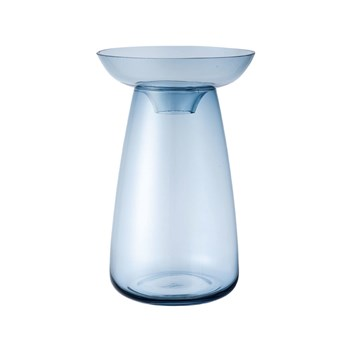 Kinto Aqua Culture 2 Piece Vase Large Blue 830ml