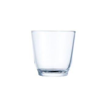 Kinto Hibi Glass Tumbler 220ml Clear