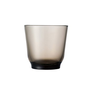 Kinto Hibi Glass Tumbler 220ml Brown