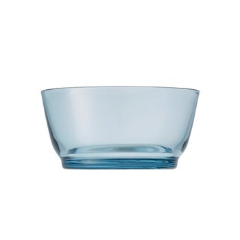 Kinto Hibi Glass Bowl 12.5cm Blue